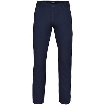Abbigliamento Uomo Chino Asquith & Fox AQ052 Blu navy