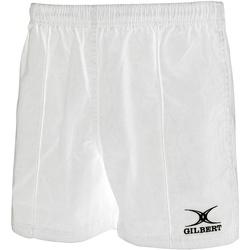 Abbigliamento Unisex bambino Shorts / Bermuda Gilbert GI02J Bianco