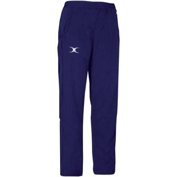 Abbigliamento Unisex bambino Pantaloni da tuta Gilbert GI05J Blu navy