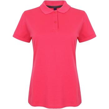 Abbigliamento Donna Polo maniche corte Henbury HB102 Fucsia