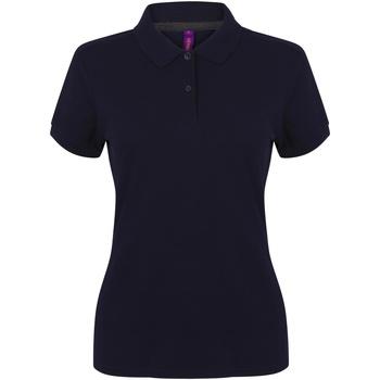 Abbigliamento Donna Polo maniche corte Henbury HB102 Blu navy