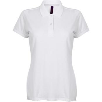 Abbigliamento Donna Polo maniche corte Henbury HB102 Bianco
