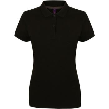 Abbigliamento Donna Polo maniche corte Henbury HB102 Nero