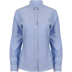 Abbigliamento Donna Camicie Henbury HB513 Blu