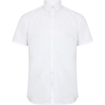 Abbigliamento Uomo Camicie maniche corte Henbury HB517 Bianco
