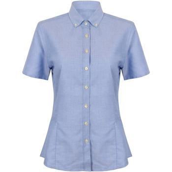 Abbigliamento Donna Camicie Henbury HB518 Blu
