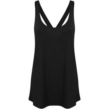 Abbigliamento Donna Top / T-shirt senza maniche Skinni Fit Workout Nero