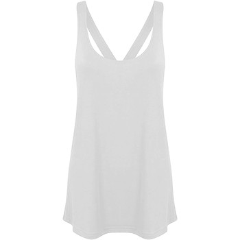 Abbigliamento Donna Top / T-shirt senza maniche Skinni Fit Workout Bianco