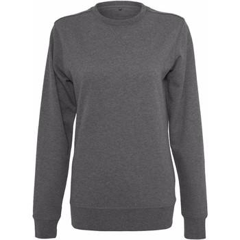Abbigliamento Donna Felpe Build Your Brand BY025 Carbone