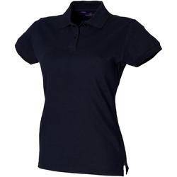 Abbigliamento Donna Polo maniche corte Henbury HB306 Blu navy