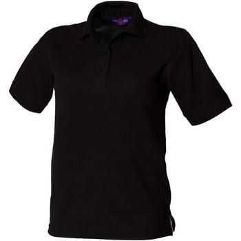 Abbigliamento Donna Polo maniche corte Henbury HB401 Nero
