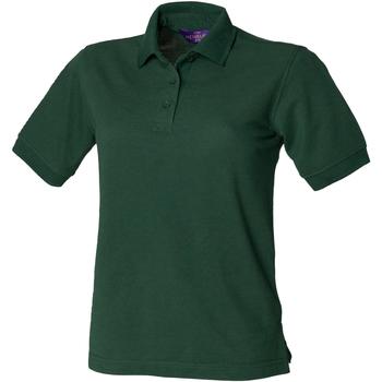 Abbigliamento Donna Polo maniche corte Henbury HB401 Verde bottiglia