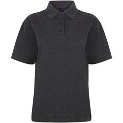 Abbigliamento Donna Polo maniche corte Henbury HB401 Carbone