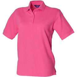 Abbigliamento Donna Polo maniche corte Henbury HB401 Fucsia