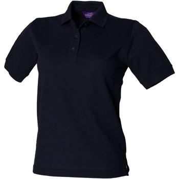 Abbigliamento Donna Polo maniche corte Henbury HB401 Blu navy