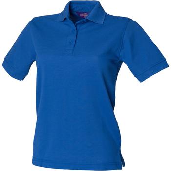 Abbigliamento Donna Polo maniche corte Henbury HB401 Blu reale