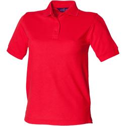 Abbigliamento Donna Polo maniche corte Henbury HB401 Rosso