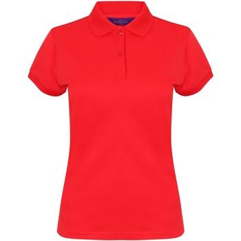Abbigliamento Donna Polo maniche corte Henbury Coolplus Rosso