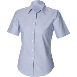 Abbigliamento Donna Camicie Henbury HB516 Blu