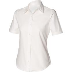Abbigliamento Donna Camicie Henbury HB516 Bianco