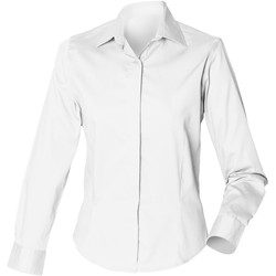 Abbigliamento Donna Camicie Henbury HB551 Bianco