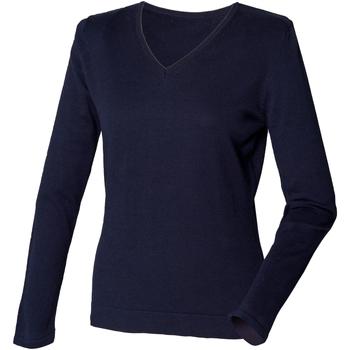 Abbigliamento Donna Maglioni Henbury HB721 Blu navy