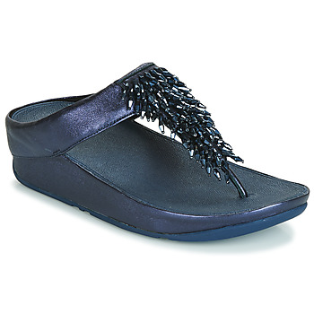Scarpe Donna Infradito FitFlop RUMBA TOE THONG SANDALS Blu