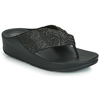 Scarpe Donna Infradito FitFlop TWISS CRYSTAL Nero