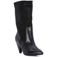 Scarpe Donna Tronchetti Juice Shoes TEVERE NERO STRASS NERI Nero
