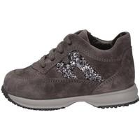 Scarpe Unisex bambino Sneakers basse Hogan HXT0920O240GHM372B Sneakers Bambina Grigio Grigio