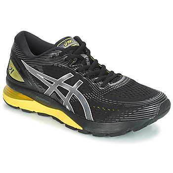 Scarpe Uomo Running / Trail Asics GEL-NIMBUS 21 Nero / Giallo