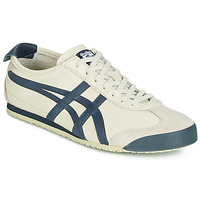 Scarpe Sneakers basse Onitsuka Tiger MEXICO 66 LEATHER Beige / Blu
