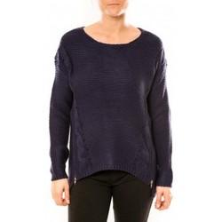 Abbigliamento Donna Maglioni By La Vitrine Pull Laetitia MEM K078 Bleu Blu
