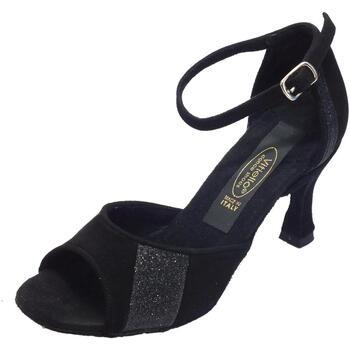 Sandali Vitiello Dance Shoes  Scarpa per Tango Argentino da donna in camoscio nero tacco 7