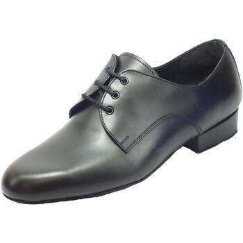 Scarpe Uomo Sandali sport Vitiello Dance Shoes Scarpa da uomo per ballo standard nappa nero Nero