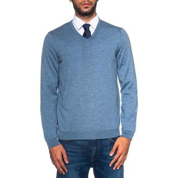 Abbigliamento Uomo Maglioni Hugo Boss BARAM-50373736471 celeste