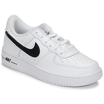 Scarpe Unisex bambino Sneakers basse Nike AIR FORCE 1-3 PS Bianco / Nero