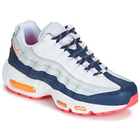 Scarpe Donna Sneakers basse Nike AIR MAX 95 W Bianco / Blu / Arancio
